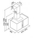 ΑΠΟΡ/ΡΑΣ MIRABILIA SQUARE PAR. 97 T80 INOX