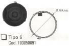 ΦΙΛΤΡΟ ΑΝΘΡ. (TIPO 6) ΣΤΡΟΓΓΥΛΟ d.170     T80
